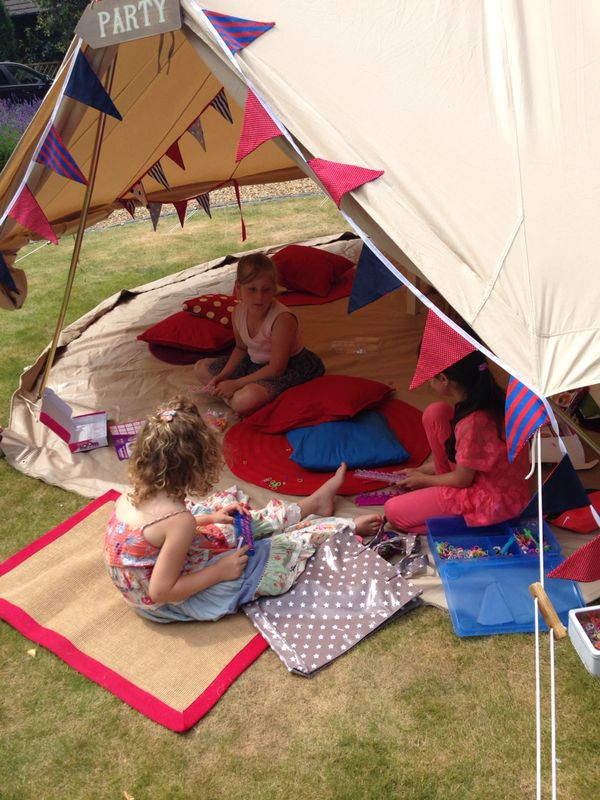 Always nice to receive photos of a party in action! & Bell Tent Party Events | PLEASE NOTE NEW WEBSITE u2013 www ...